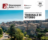 Newspaper Viterbo 22 Marzo
