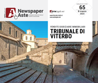 Newspaper Viterbo 8 Marzo
