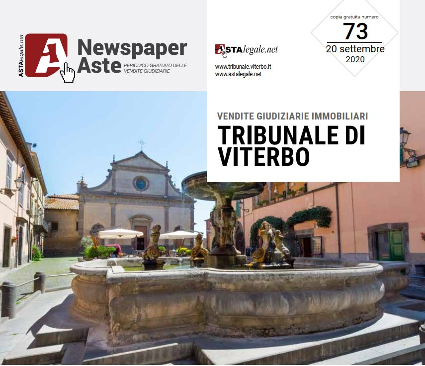 Newspaper Viterbo 20 Settembre